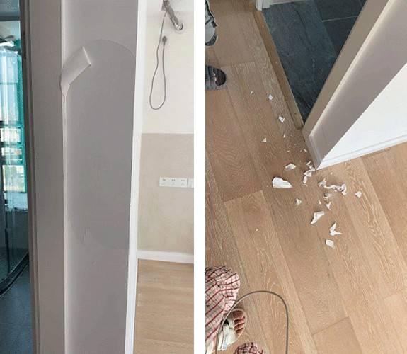 二手房墙体装修质量问题咨询