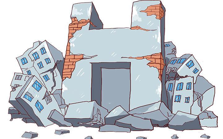 装修鉴定丨想给房屋装装修,没想到房屋倒了还砸了邻居